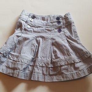 Cyrillus stripe skirt 6 A 114 (A13)